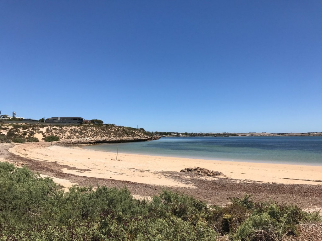 Beach near Streaky Bay boat ramp