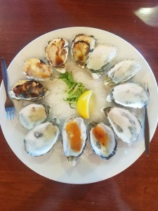 Oysters at the Coffin Bay Hotel