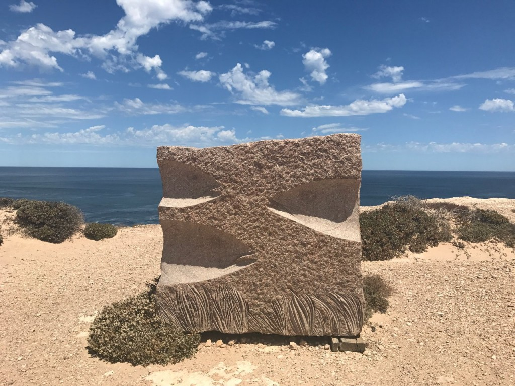 Elliston Clifftop Drive - Sculpture