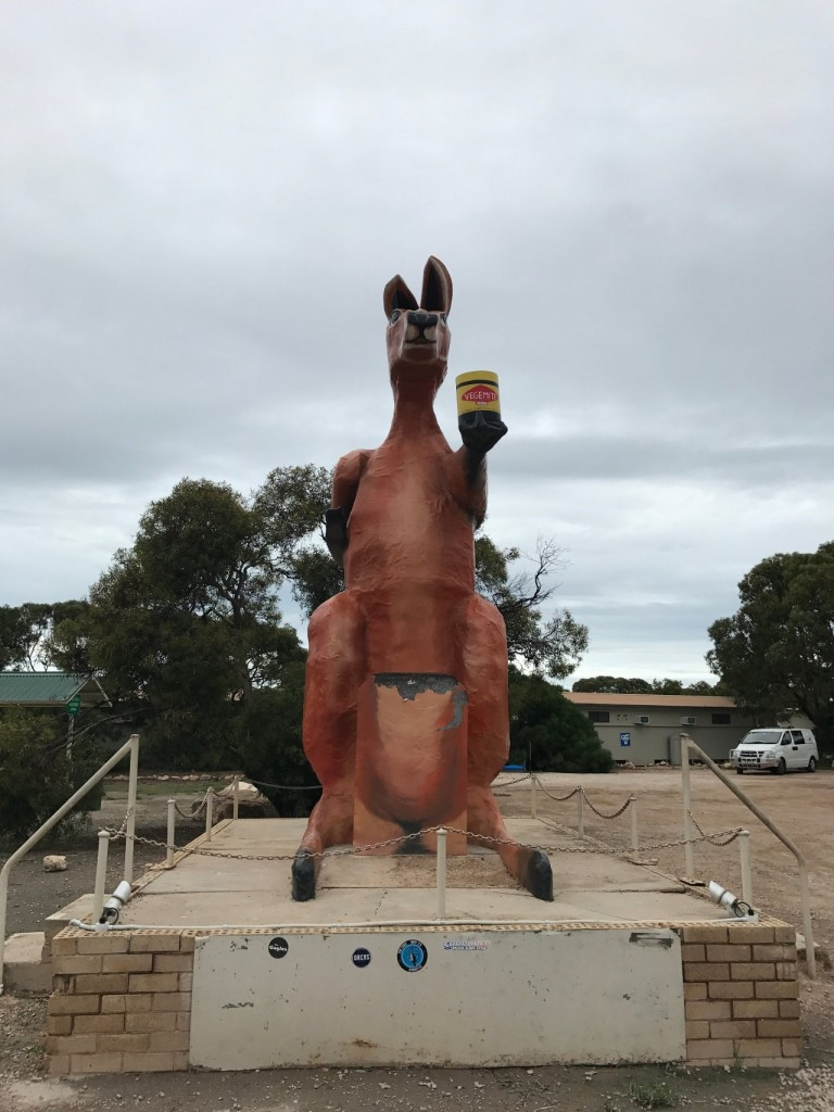 Big Roo at the Border Village Roadhouse