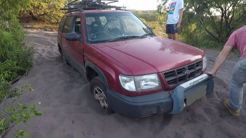 Bogged Suburu Forester
