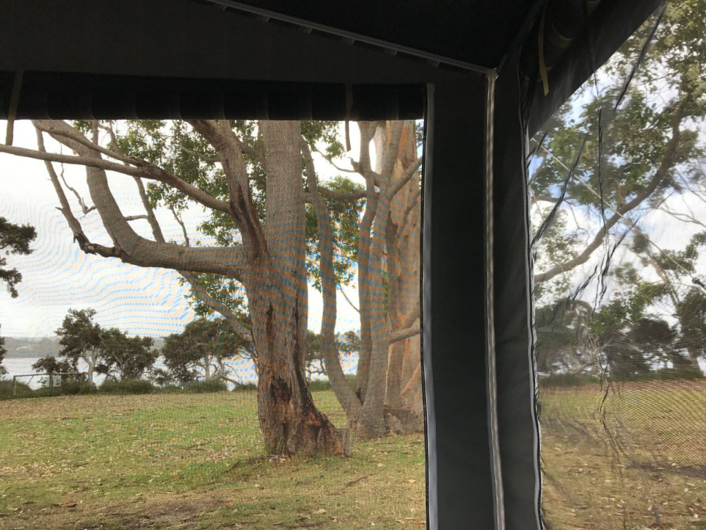 Our breakfast view today, Walpole WA