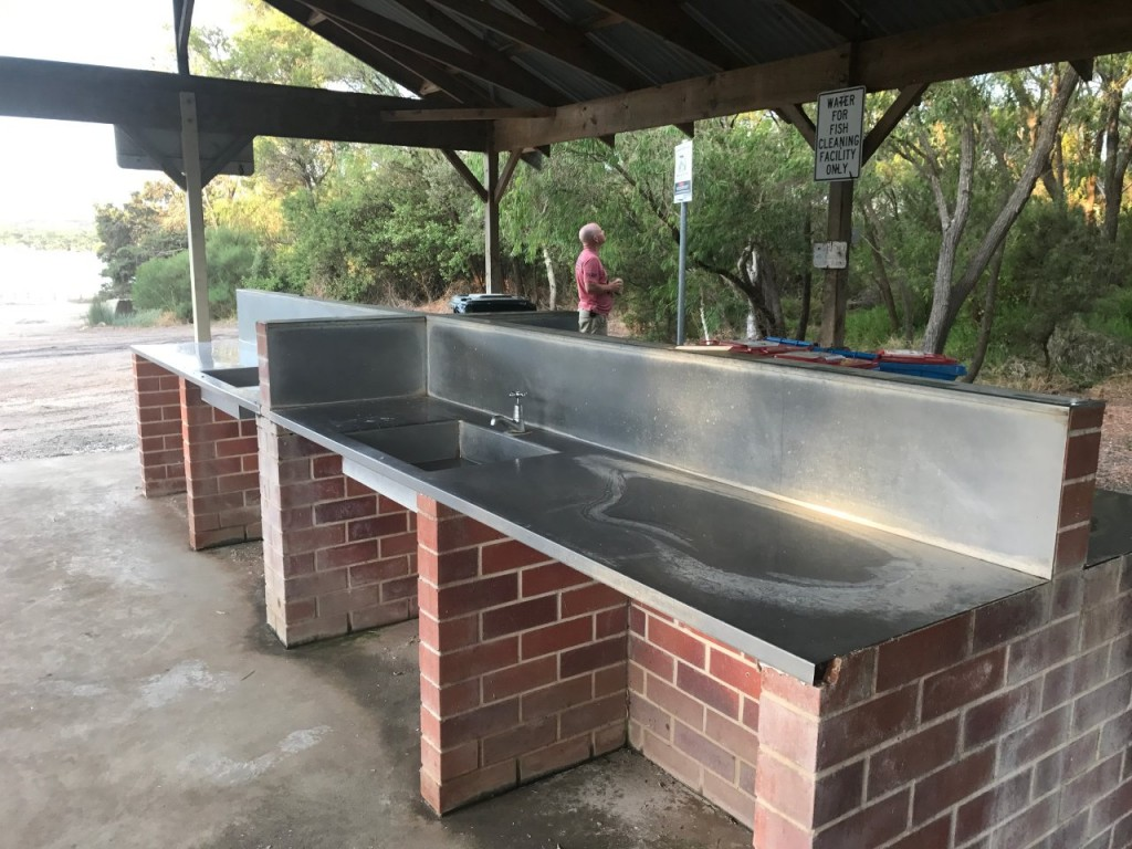 Bremer Bay, Fish cleaning tables