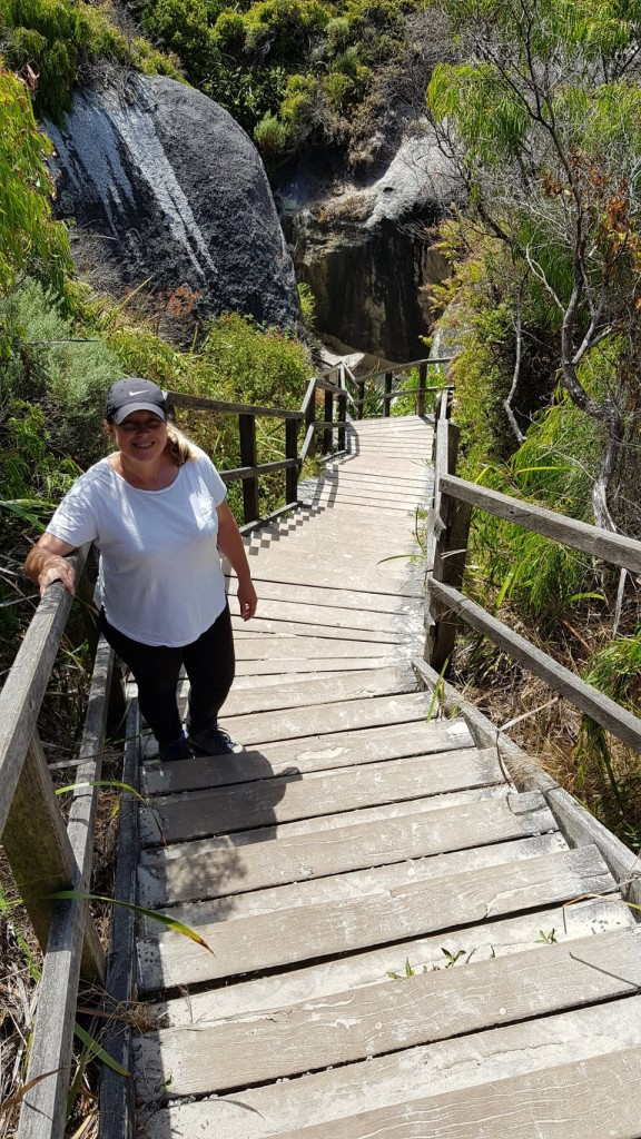 Stairs to Elephant Rocks, William Bay National Park WA