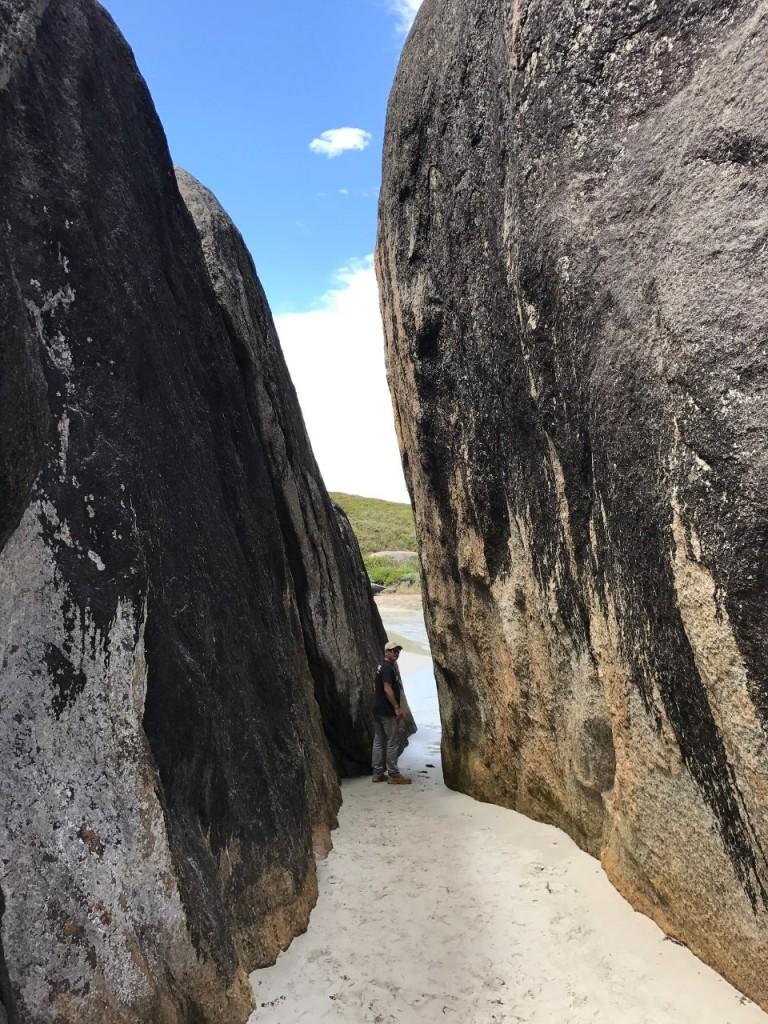 Entrance to Elephant Rocks, William Bay National Park WA