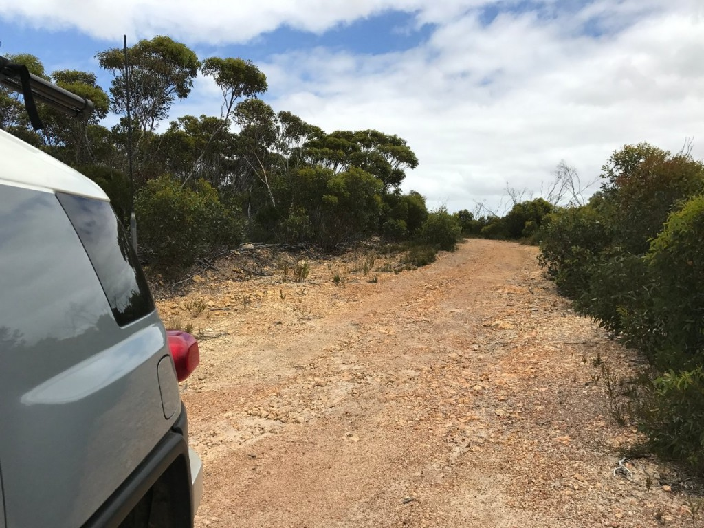 Track in to Harry's Rock, near Bremer Bay on the Bremer River