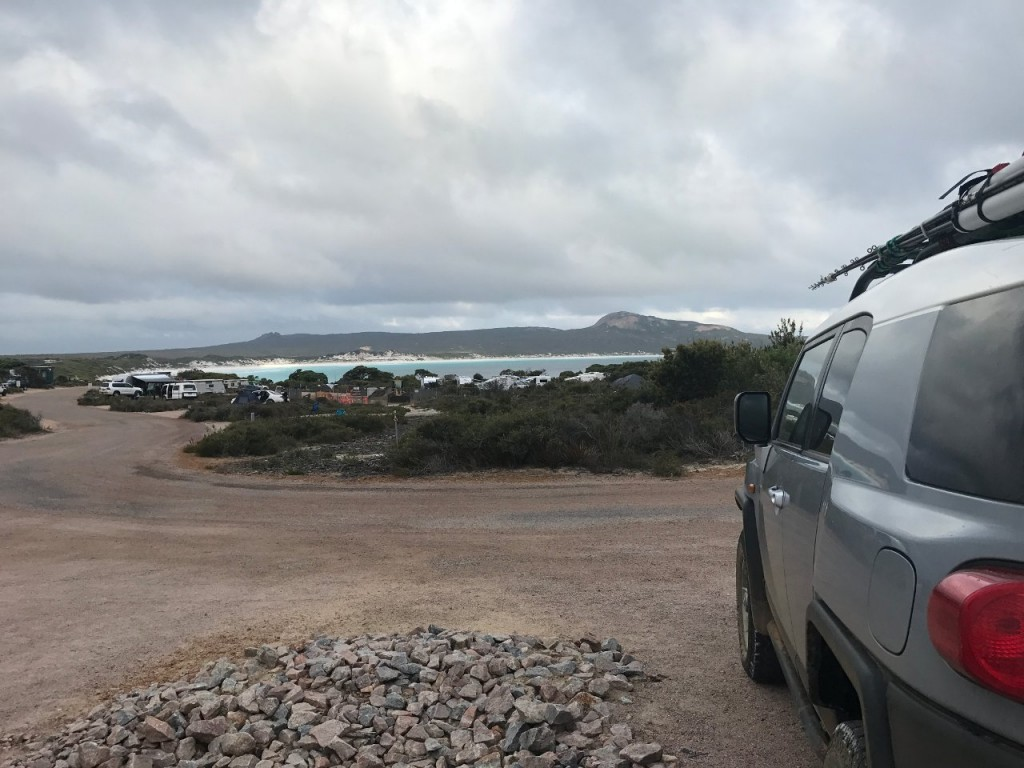 Lucky Bay, View from our camp