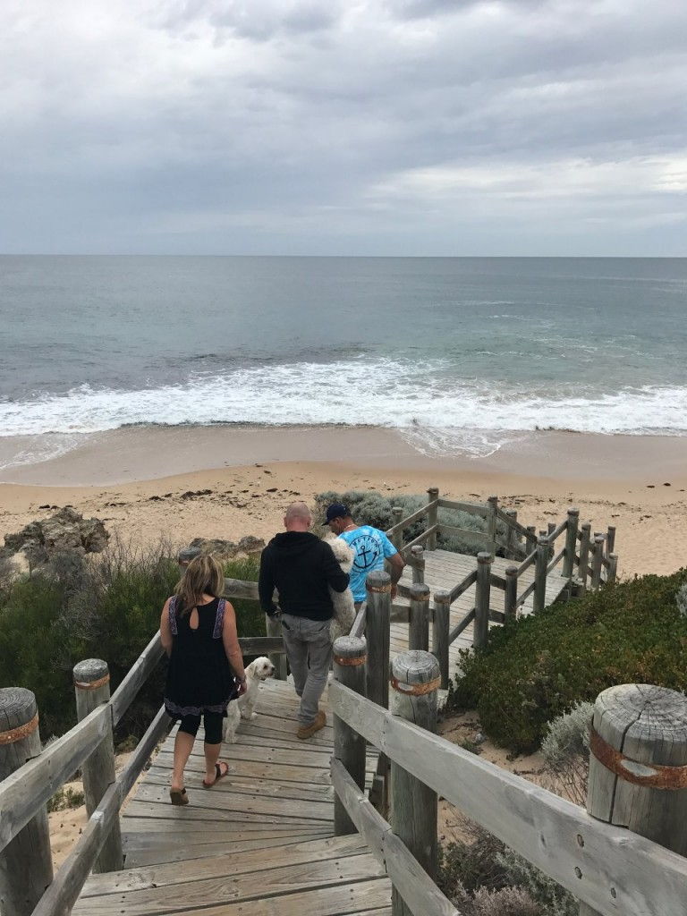 Beach walks, Mandurah WA
