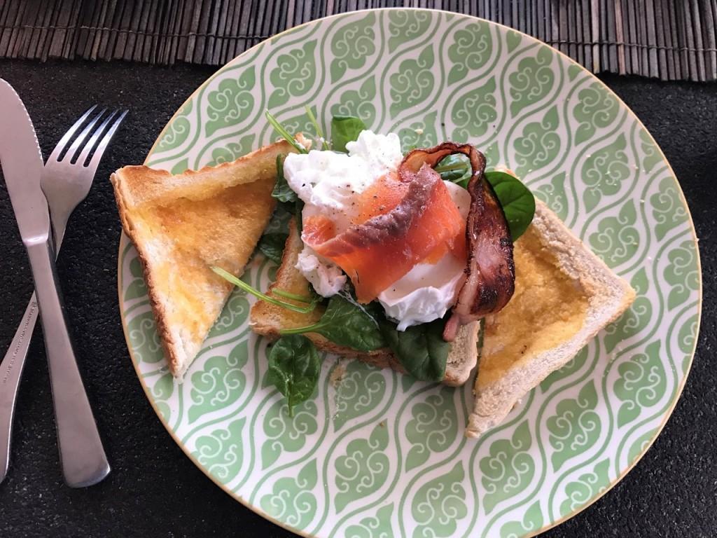 Matthew Durdin's amazing breakfast, Mandurah WA
