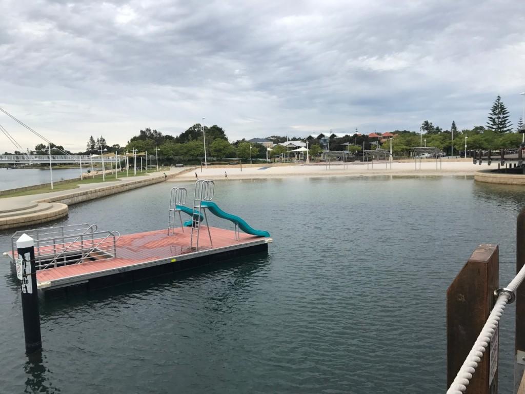 Mandurah Marina Water Slides, Mandurah WA