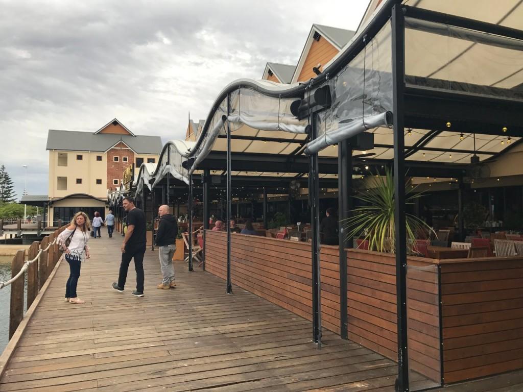 The Oyster Bar, Mandurah Marina WA