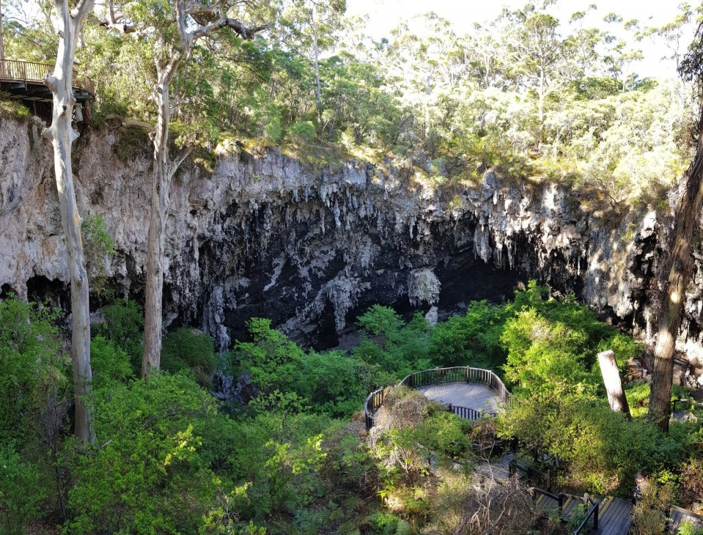 Doline Entrance to Lake Cave, Boranup WA