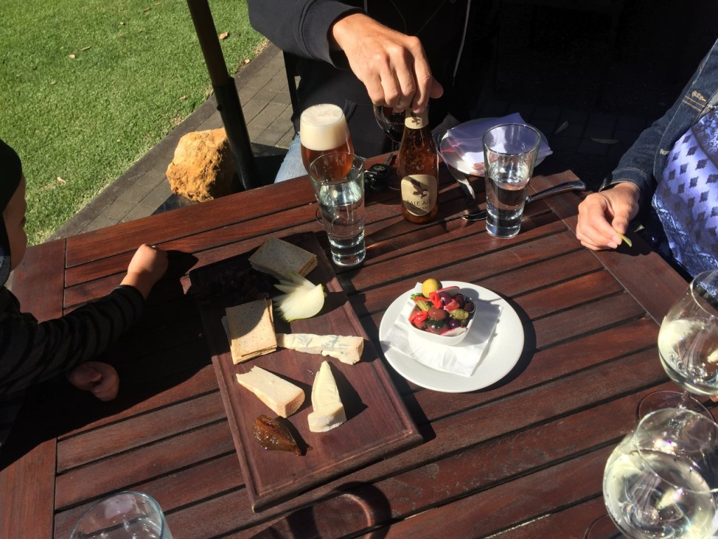 Xanadu Winery Cheese Platter, Boranup WA