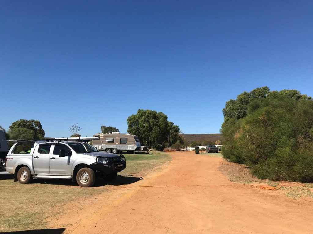 Campsite, Big River Ranch, Kalbarri WA
