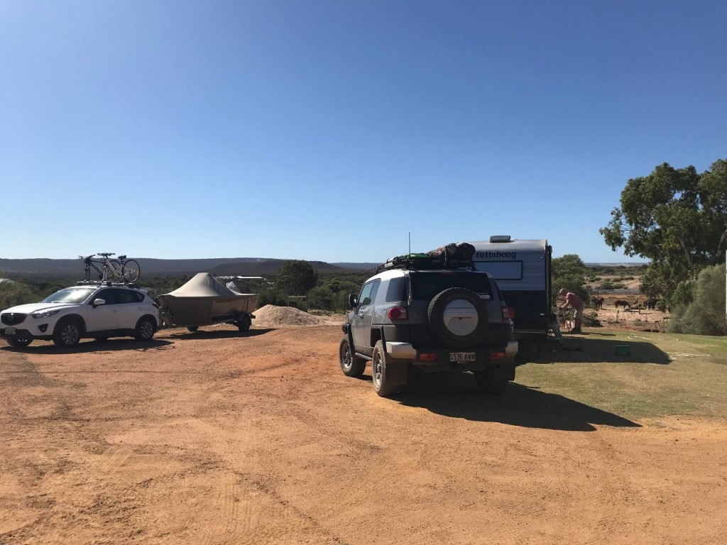 Our Campsite, Big River Ranch, Kalbarri WA