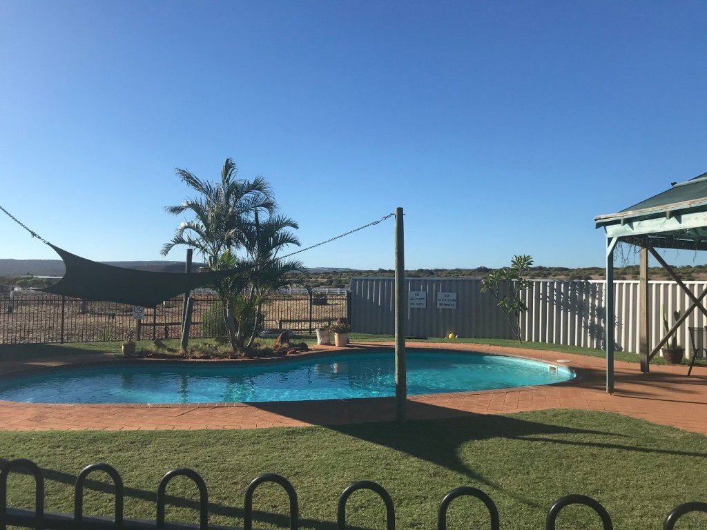 Pool, Big River Ranch, Kalbarri WA