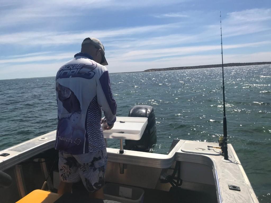 Col, Fishing at Denham WA
