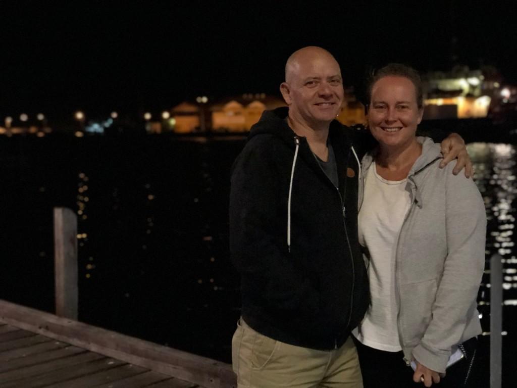 Kris and Col, Fremantle WA