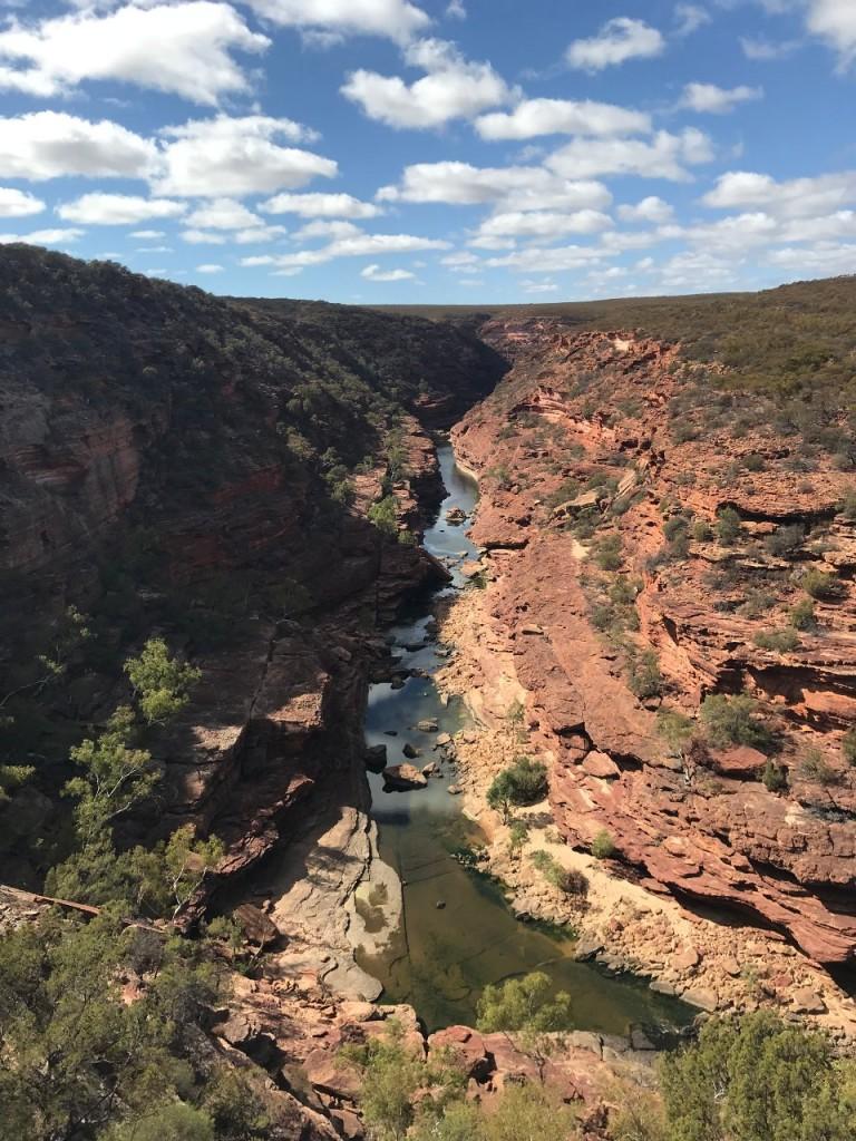 Z Bend River Walk, Murchison River, Kalbarri National Park WA