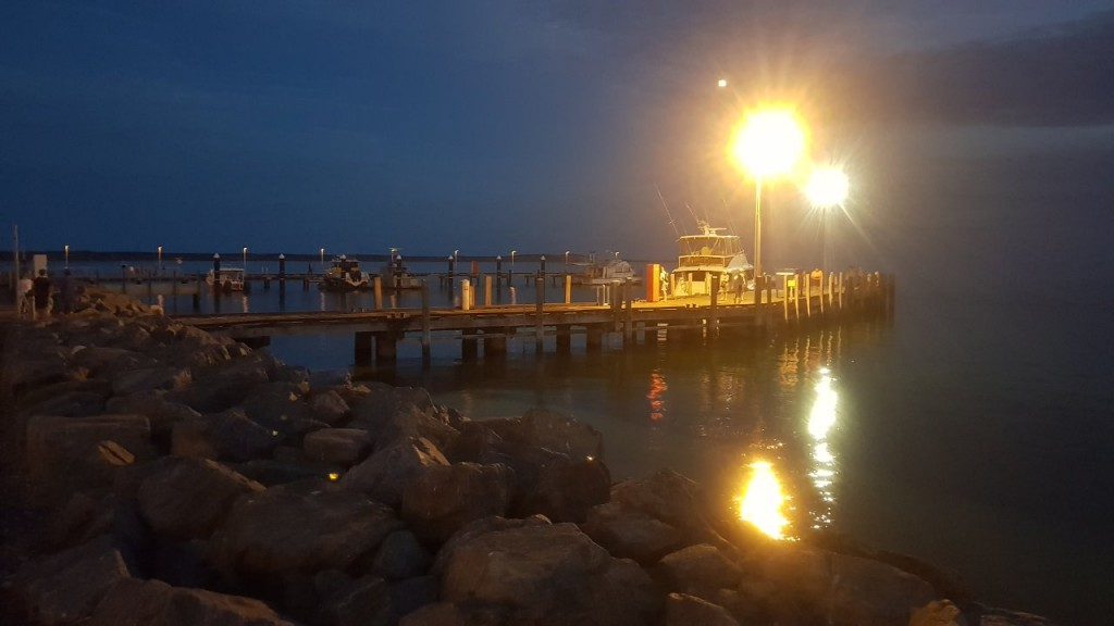 Night Fishing Jetty, Denham WA