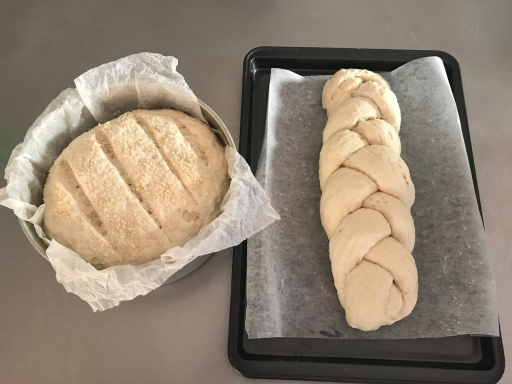 Second batch of bread to be baked, Giralia Station WA