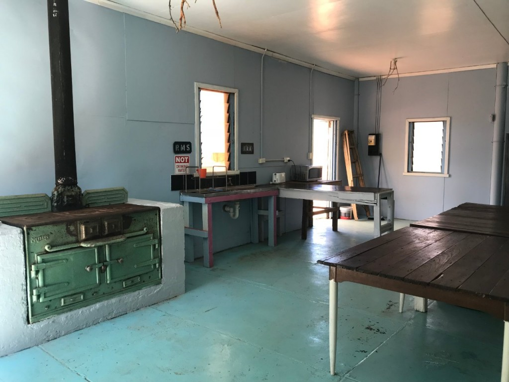 Camp Kitchen, Giralia Station WA
