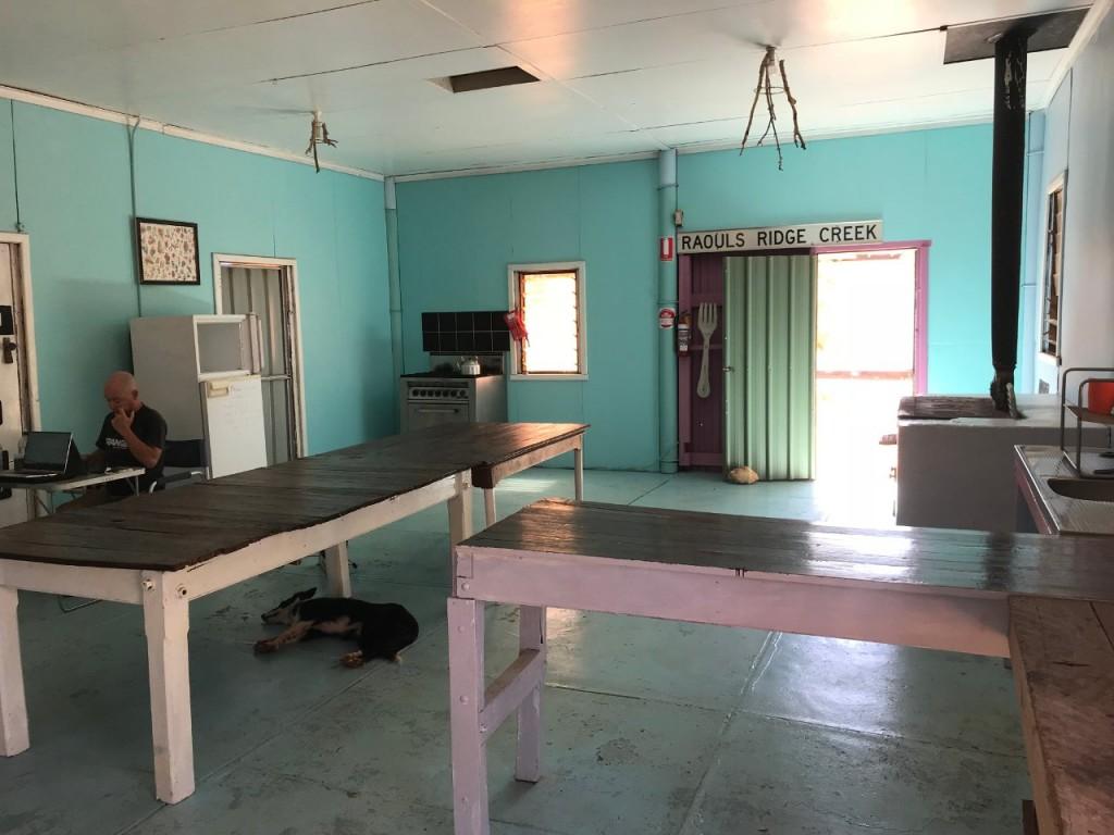 Camp Kitchen Giralia Station, WA