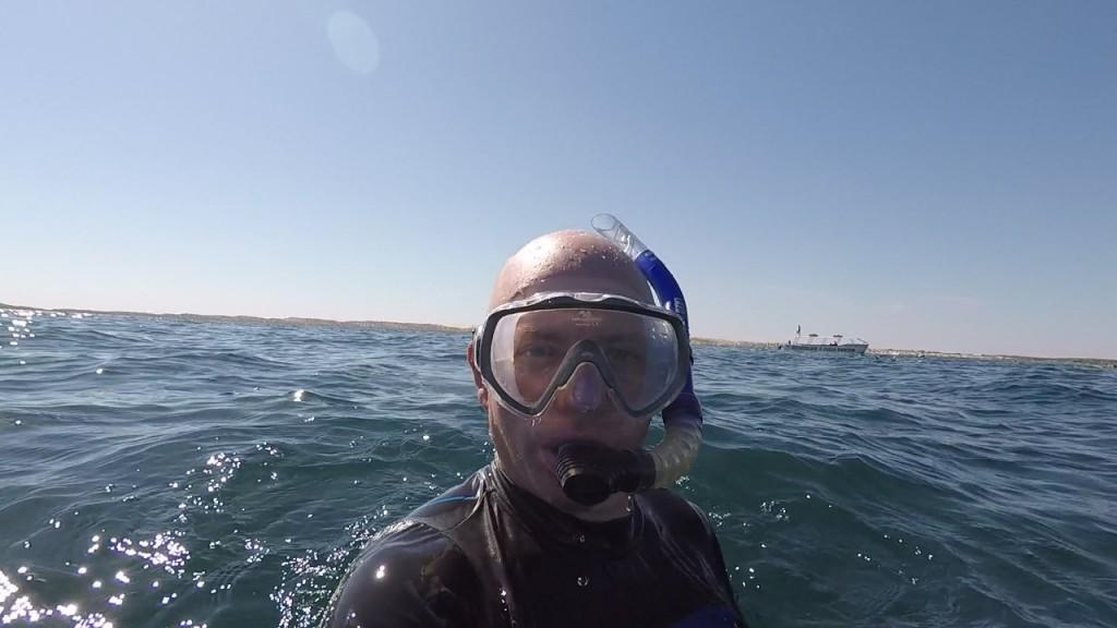 Col Snorkeling, Coral Bay WA
