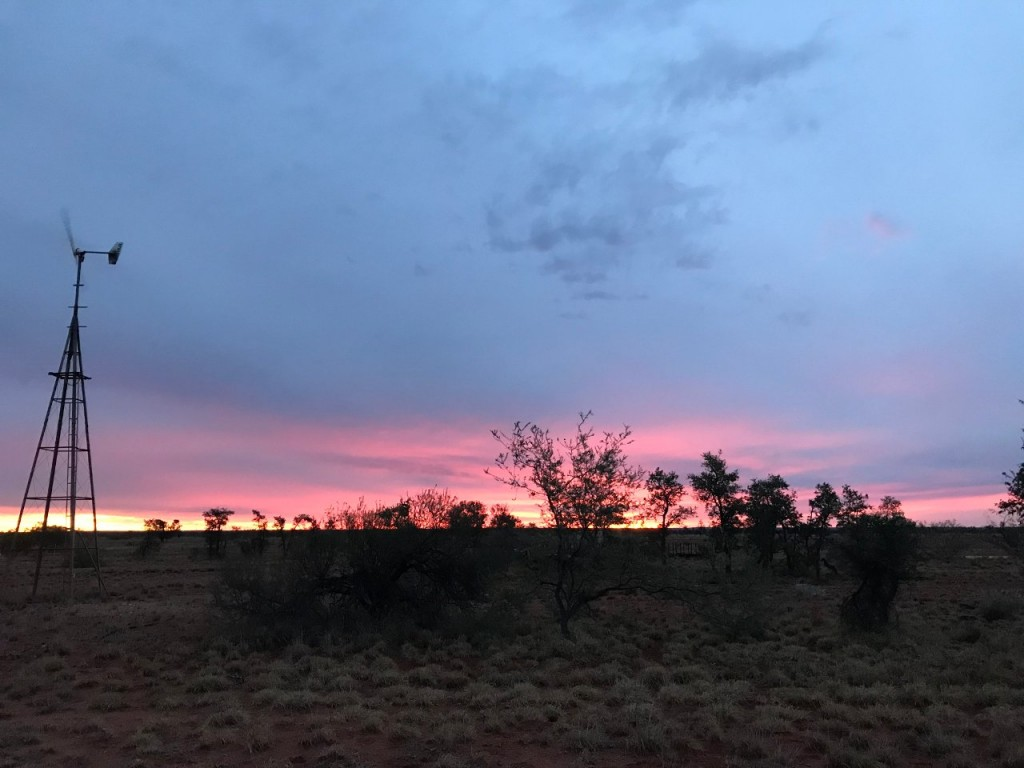 Giralia Station Sunset WA
