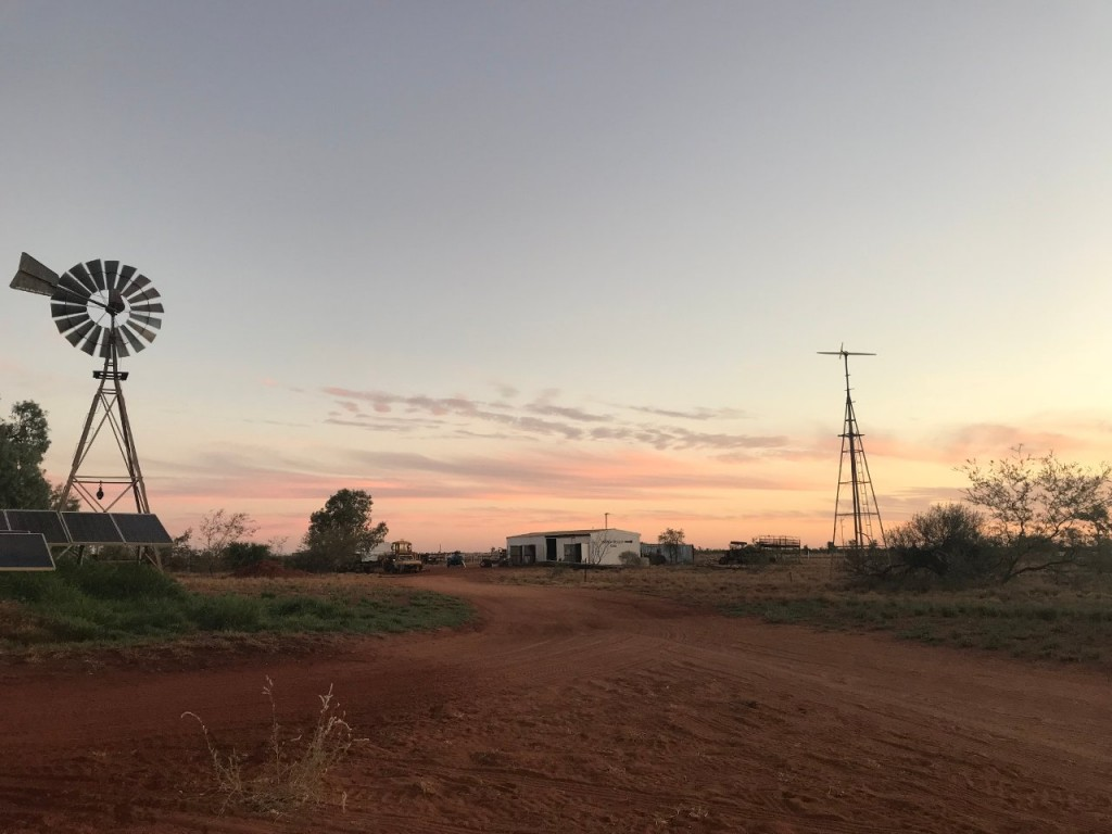 Sunset, Giralia Station WA