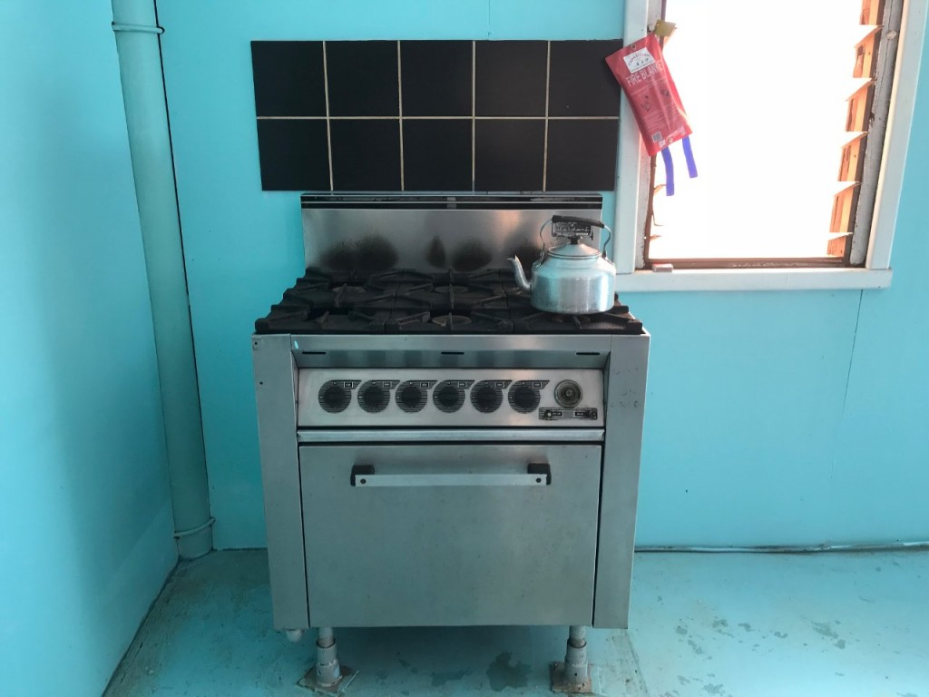 Gas Stove, Camp Kitchen, Giralia Station WA