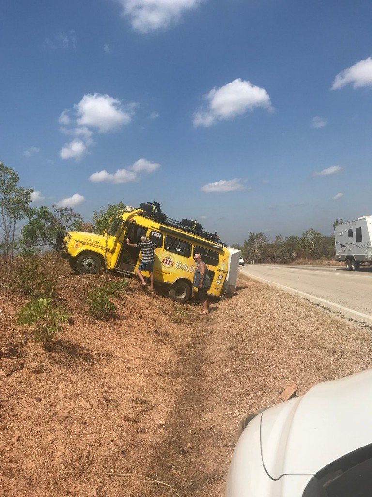Car Accident near Katherine NT