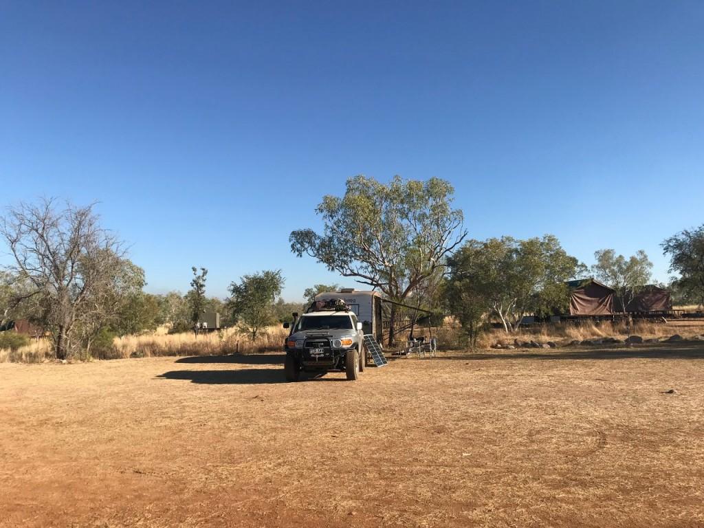 Our camp Bungle Bungle Caravan Park, Purnululu National Park WA