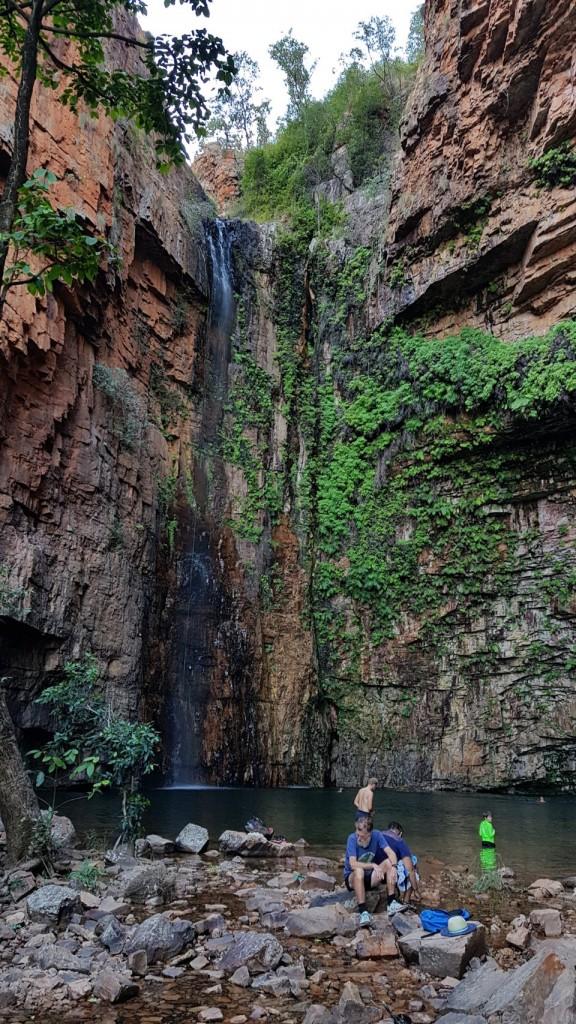 Emma Gorge Falls, El Questro WA
