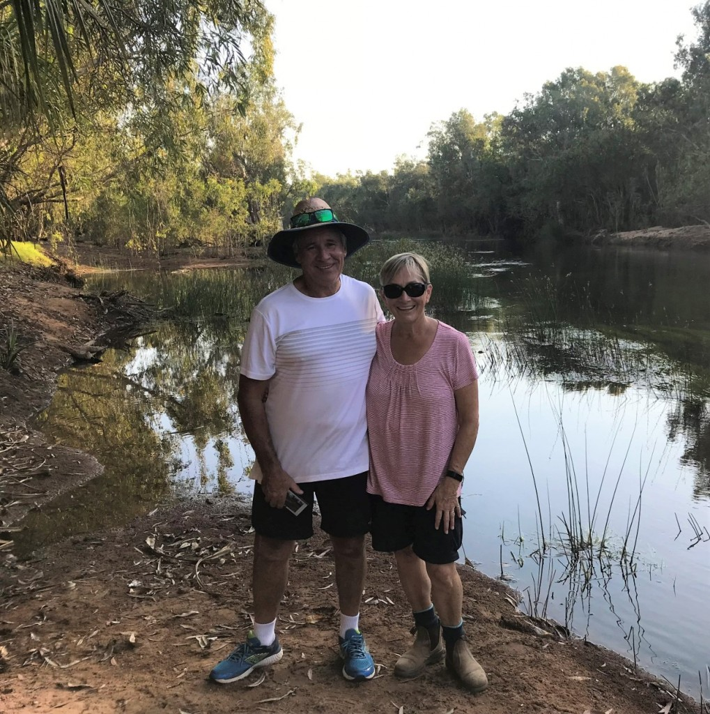 James and Joyce, Katherine River, Manbulloo Station NT