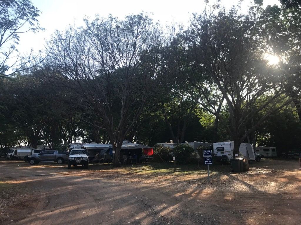 Manbulloo Caravan Park, Katherine NT