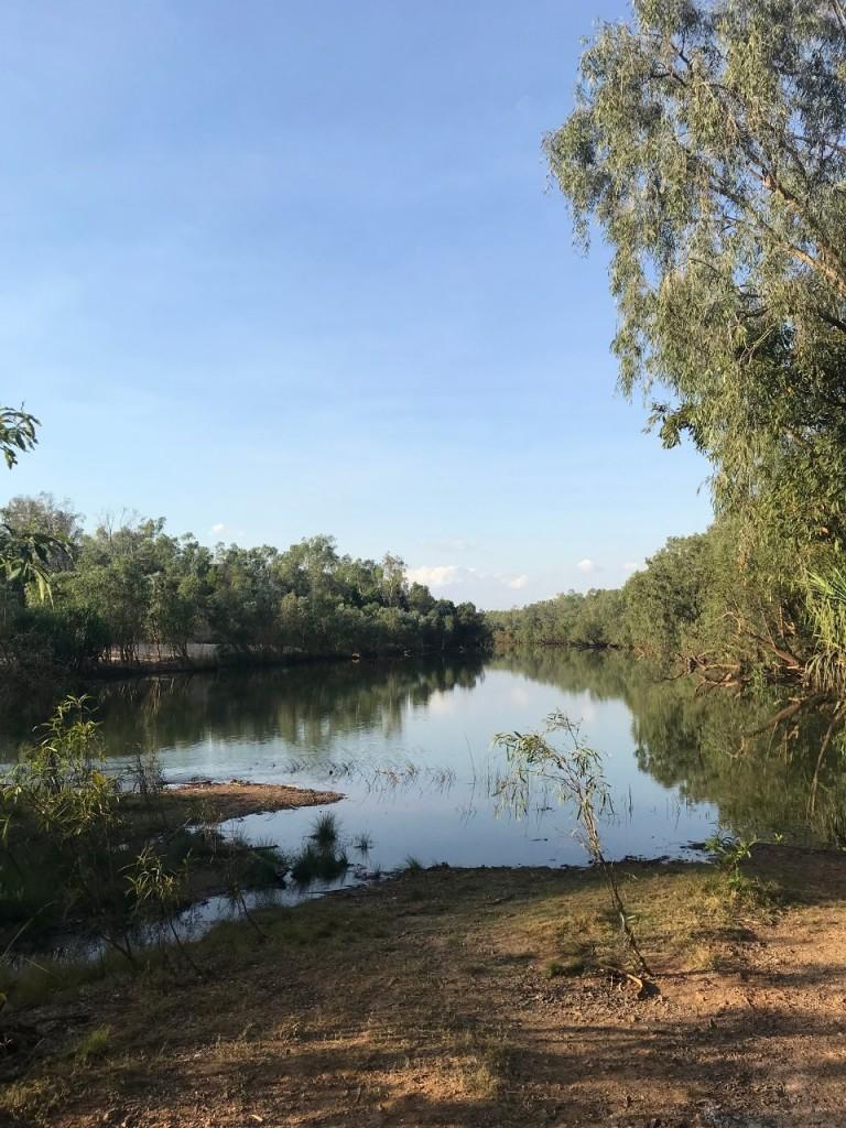 Katherine River, Manbulloo Station NT