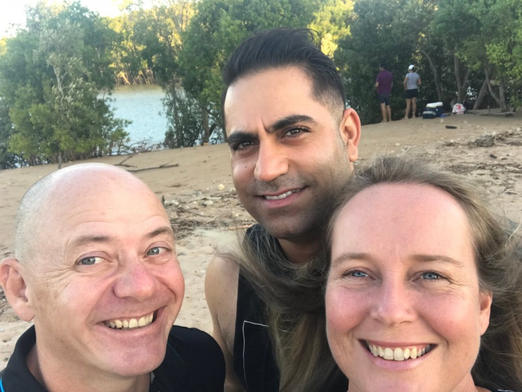 Col, Angry and Me, Buffalo Creek Boat Ramp, Darwin NT
