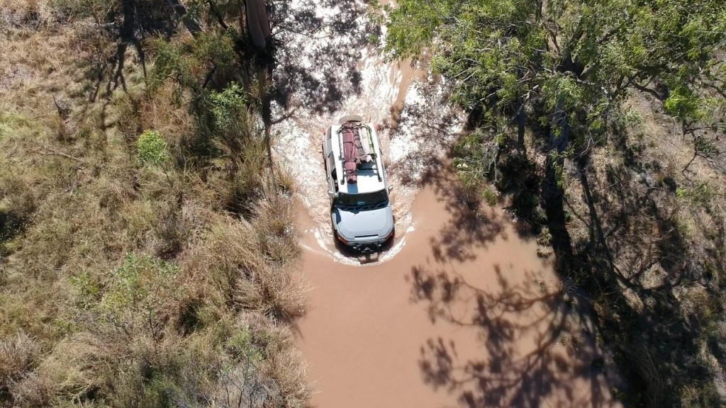 Deep water crossing, El Questro WA