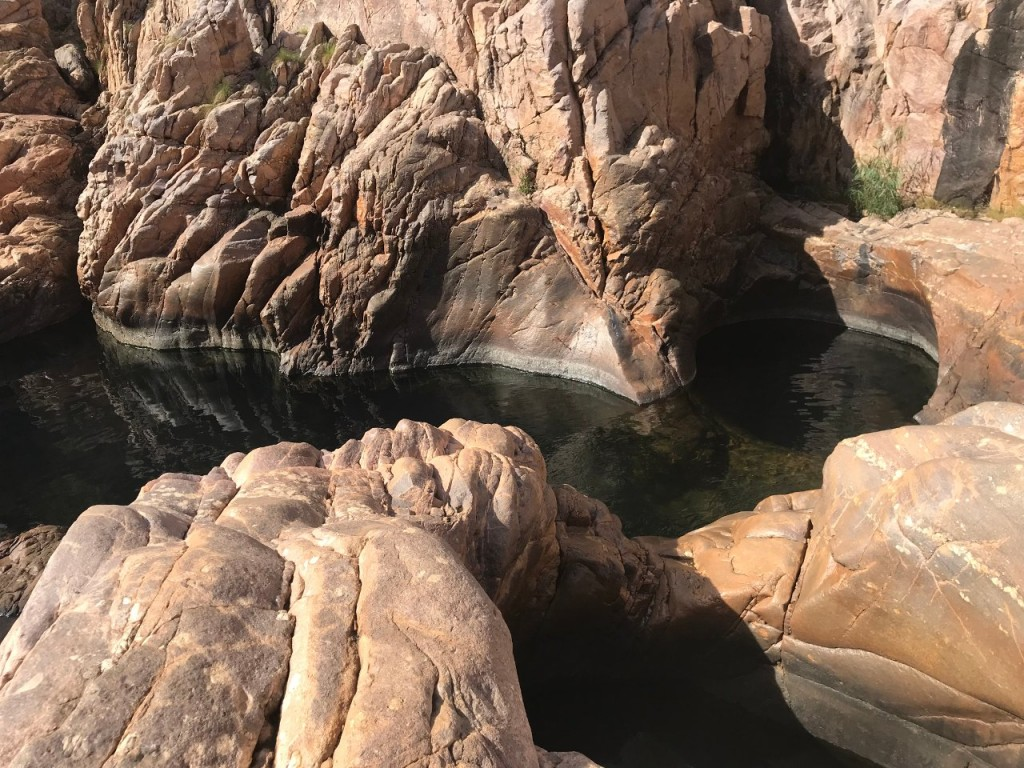 Upper plunge pool, Barramundi Gorge, Maguk, Kakadu National Park NT