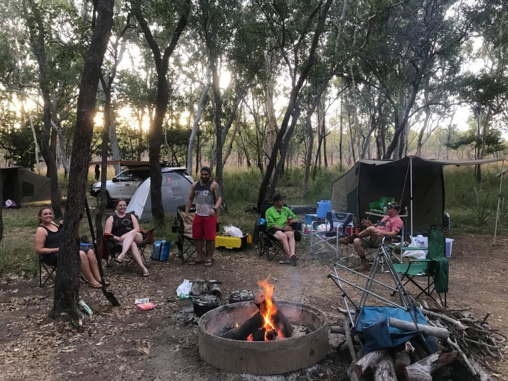 Our camp at Barramundi Gorge, Maguk, Kakadu National Park NT