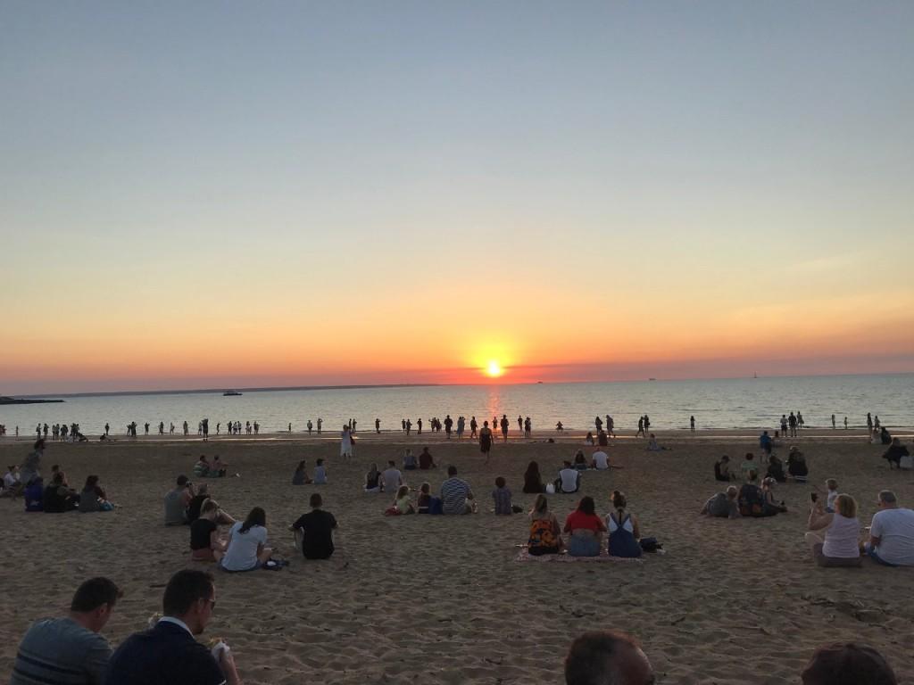 Sunset Mindil Beach, Darwin NT