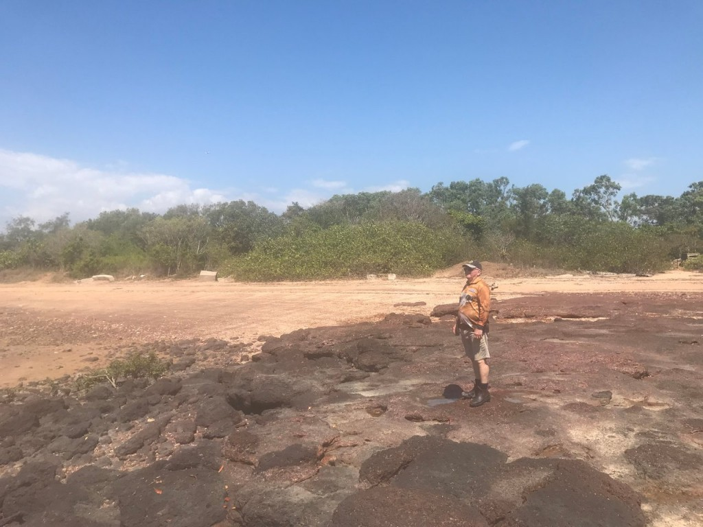 Dave - an 'Easty' at East Point, Darwin NT
