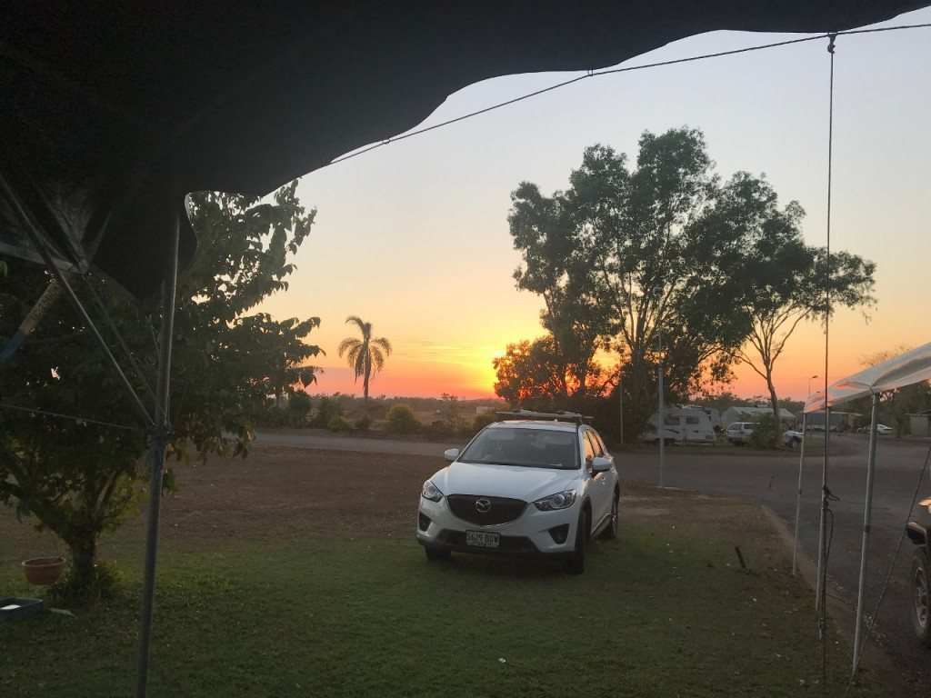 Sunrise, Lee Point Village Resort, Darwin NT