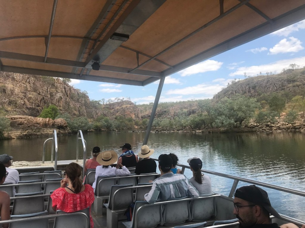Boat Tour through the firs Gorge at Nitmiluk, Nitmuluk National Park NT