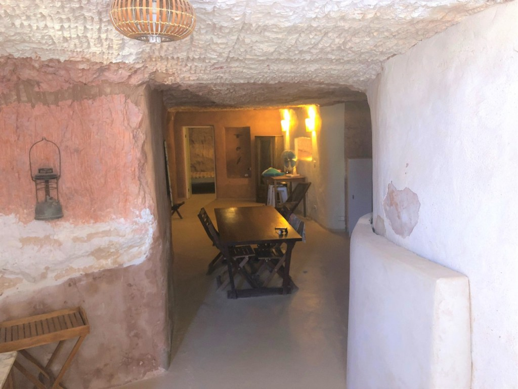 Our underground AirBnB house in Coober Pedy SA