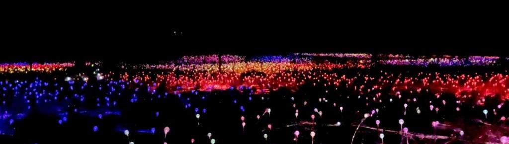 Field of Light exhibition, Uluru NT